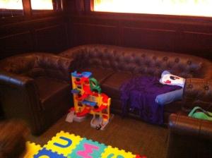 Playroom with multi level car park