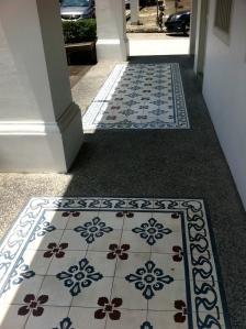 Tile detailing